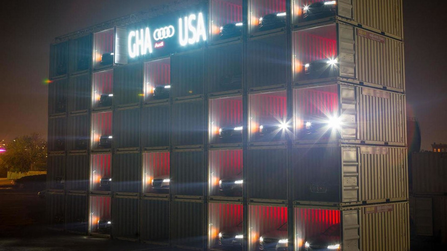 Audi unveils giant car-themed scoreboard for the World Cup [video]