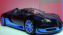 Bugatti Veyron Grand Sport Vitesse presentation in Geneva