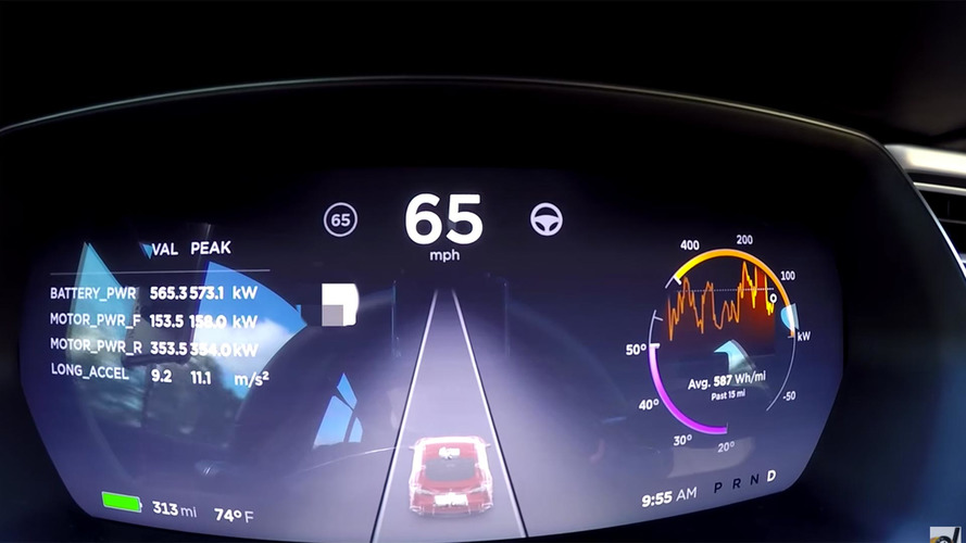 Watch how to unlock Tesla's even quicker Ludicrous Plus Easter egg
