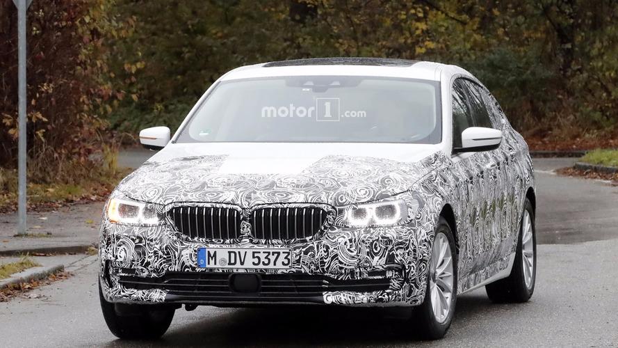 2018 BMW 6 Series GT spy photos