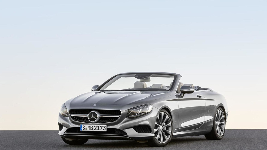 Mercedes S-Class Cabriolet goes up for order, pricing revealed