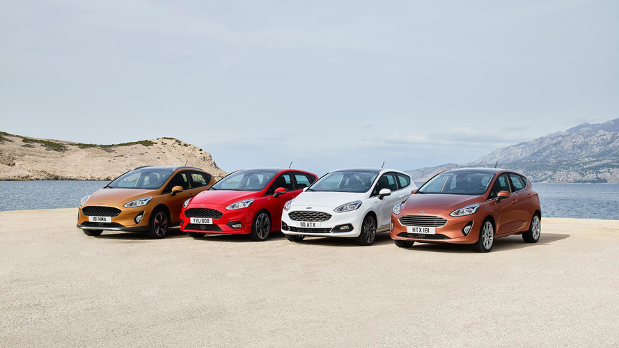 Next-gen Ford Fiesta officially debuts, big tech upgrades inside