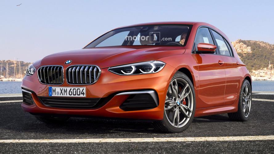 Projeção - Assim deverá ser o BMW Série 1 2019, com tração dianteira