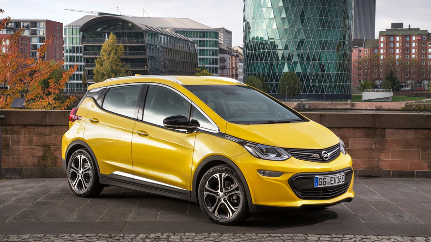 Opel Ampera-e officially certified with 520-km range