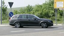 Mercedes C 63 AMG Wagon spy photo