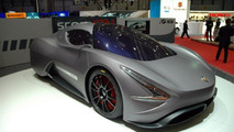 IED Abarth scorpION EV presented in Geneva [video]