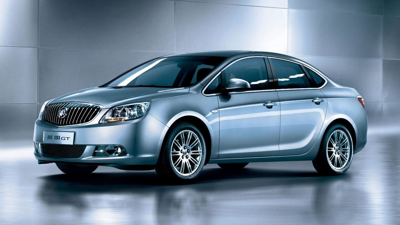 2011 Buick Excelle first official photo 02.06.2010