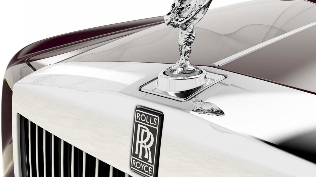 Rolls Royce Phantom Spirit of Ecstasy Centenary Collection