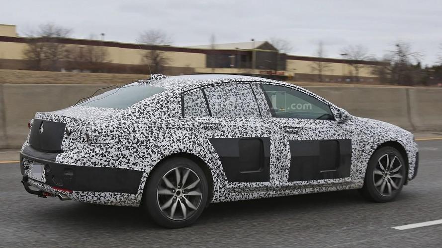 2018 Buick Regal makes spy photo debut