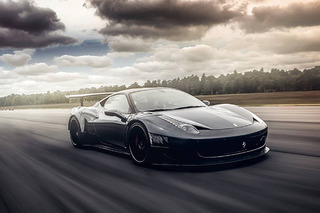 Stunning Ferrari 458 Evolves Into Street-Legal Race Car