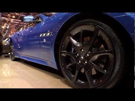 2013 Maserati GranTurismo Sport at the 2012 Geneva Motor Show