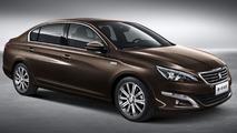 Peugeot 408 Sedan revealed, debuts at Auto China