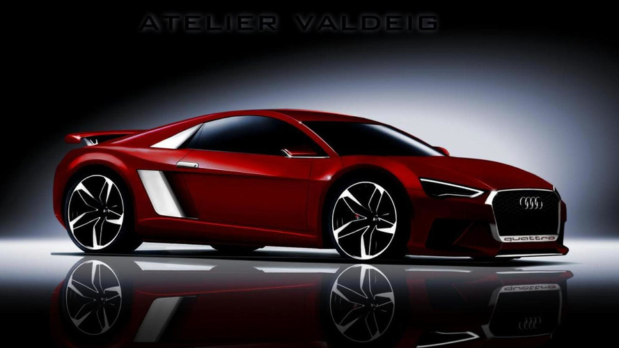 Next-generation Audi R8 rendered once again