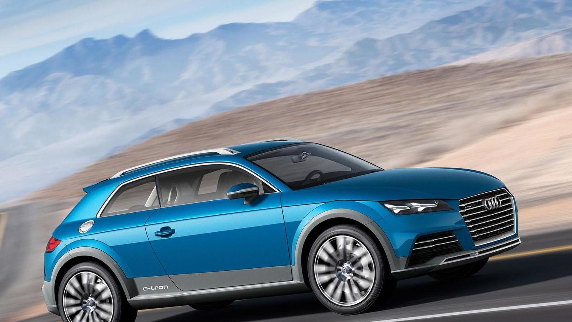 Audi crossover coupe concept leaks out early, likely previews the 2015 TT