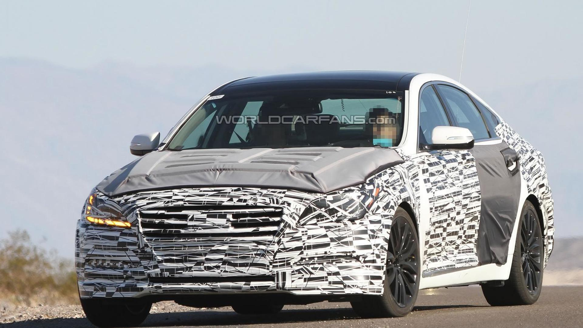 2014 Hyundai Genesis confirmed with HTRAC all-wheel drive system