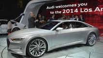 Next generation Audi A8 design to be influenced by Prologue concept [new live pics]