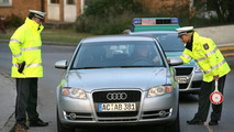German police releases picture with Audi A4 wearing