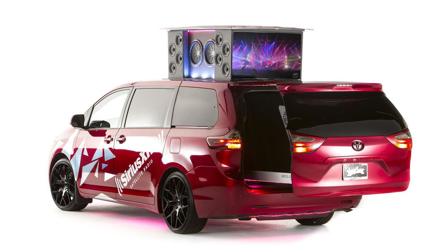 Toyota Sienna Remix is a mobile DJ booth for soccer moms