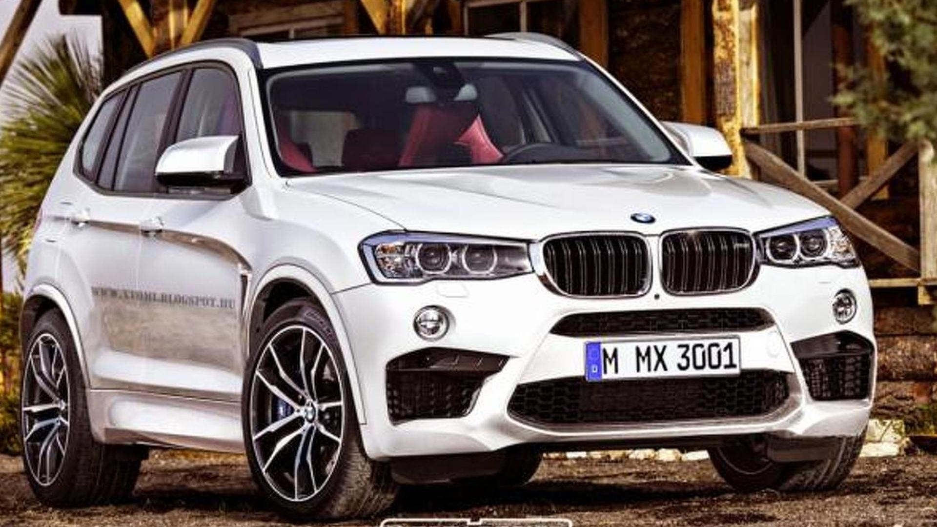 possible bmw x3 m rendered with appealing design. Black Bedroom Furniture Sets. Home Design Ideas