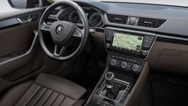 2015 Skoda Superb interior