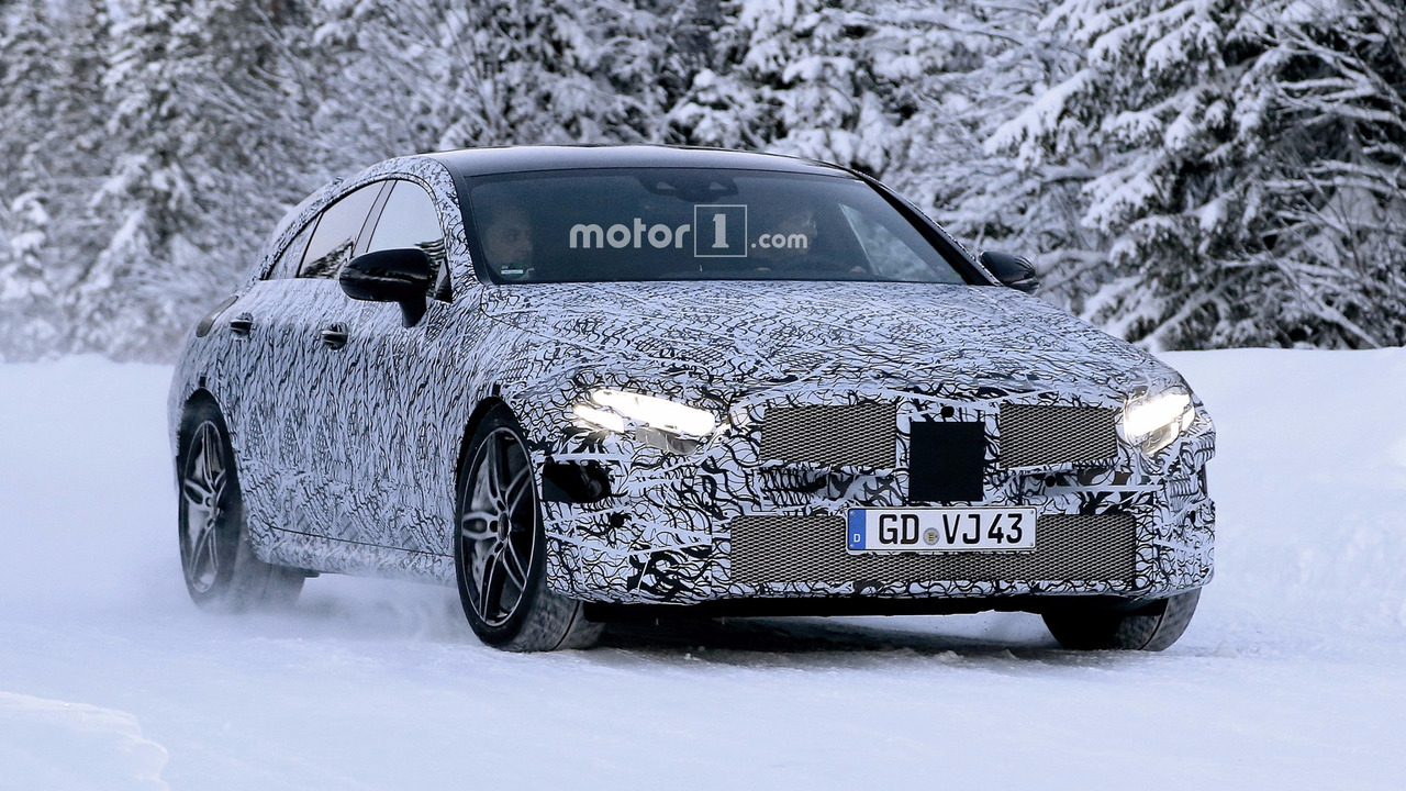 2018 - [Mercedes] CLS III  - Page 2 2018-mercedes-cls-spy-photo