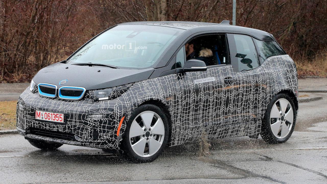 2017 - [BMW] i3 restylée Bmw-i3-spy-shots