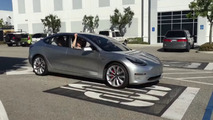 Tesla Model 3 prototype caught on video strutting its stuff