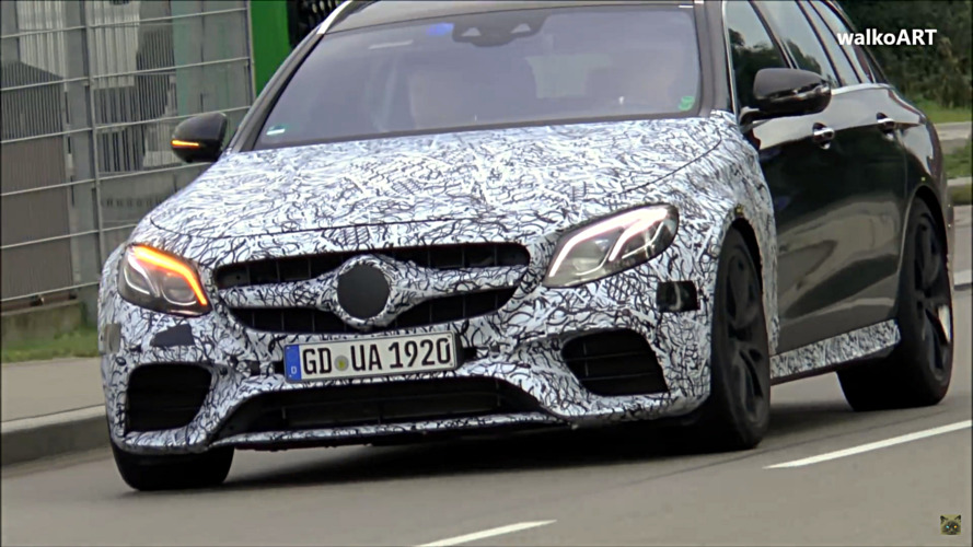 Mercedes-AMG E63 Sedan and Estate caught testing on the move
