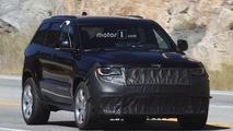 2018 Jeep Grand Cherokee Trackhawk spy photos