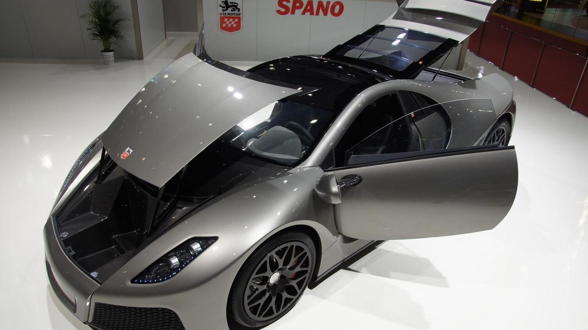 GTA Spano unveiled in production guise - 0-100kph in 2.9 seconds