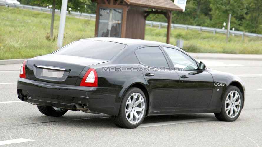 2012 Maserati Quattroporte test mule spied [video]