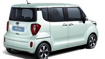 Kia Ray for Korean market unveiled