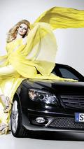 New Mercedes CLC and Eva Padberg