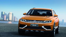 Volkswagen CrossBlue Coupe concept loses its lofty performance specifications for L.A.