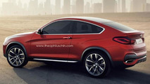 BMW X4 Coupe rendering 01.5.2013