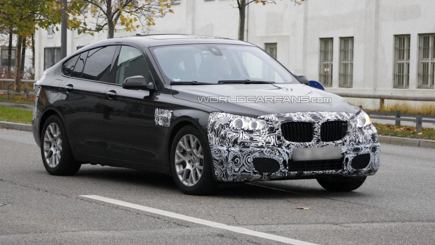 BMW 5-Series GT facelift spied