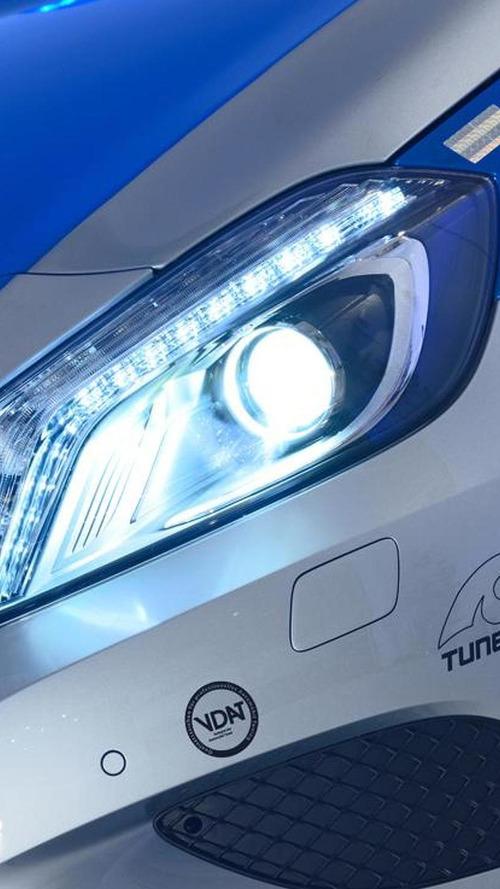 Tune it! Safe! Brabus Mercedes A-Class introduced in Essen [video]