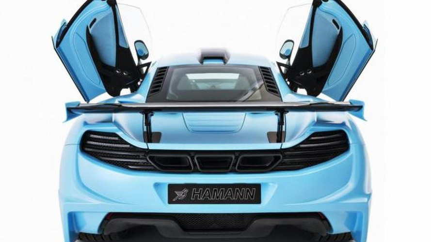 Hamann unveils blue memoR McLaren 12C