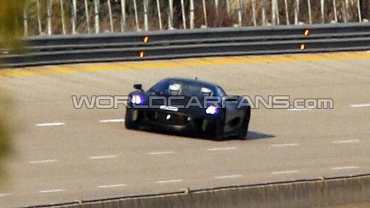 Jaguar C-X75 spy photo 04.02.2013 / Automedia