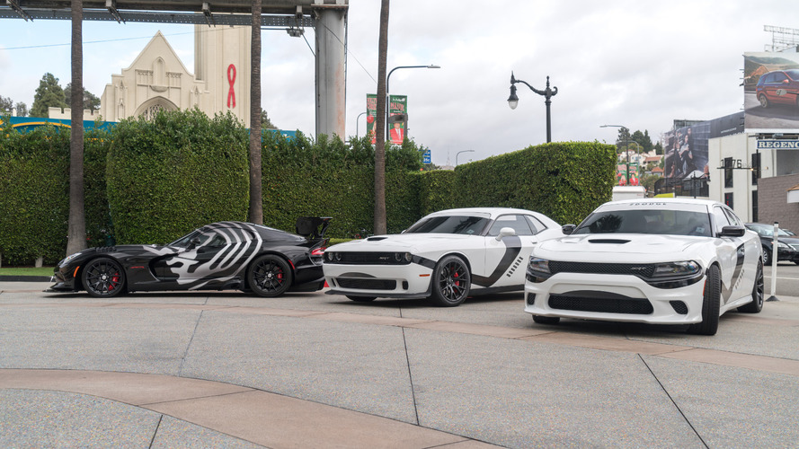 Dodges unveils Star Wars-themed Hellcats & Viper ACR