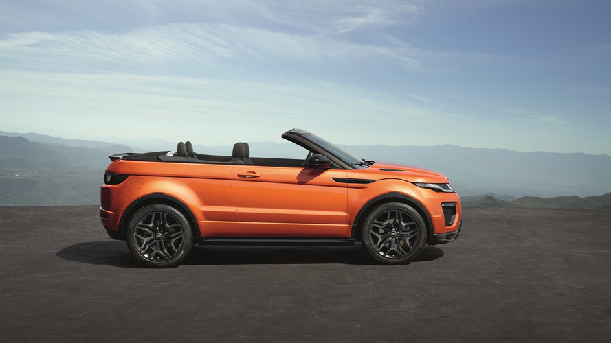 Evoque convertible helps boost JLR sales by 26 percent
