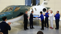 Honda delivers the first HondaJet
