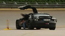 Mercedes SLC Gullwing Spied