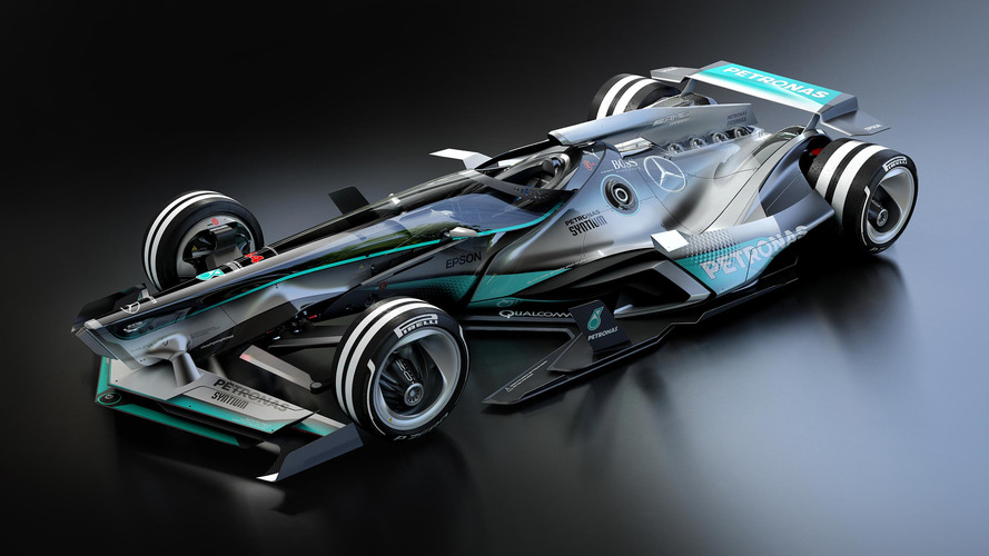 Will F1 cars look like this in 2030?