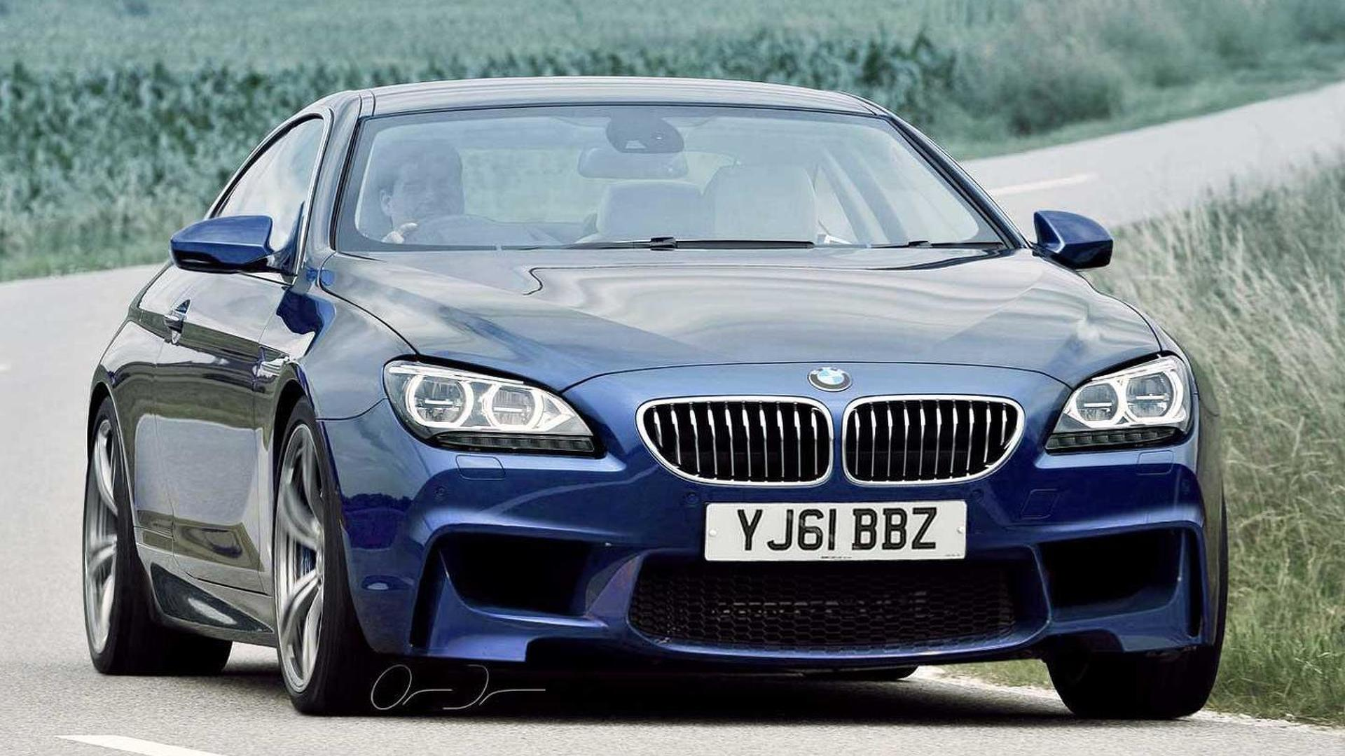 2013 BMW M6 (F13)  rendered