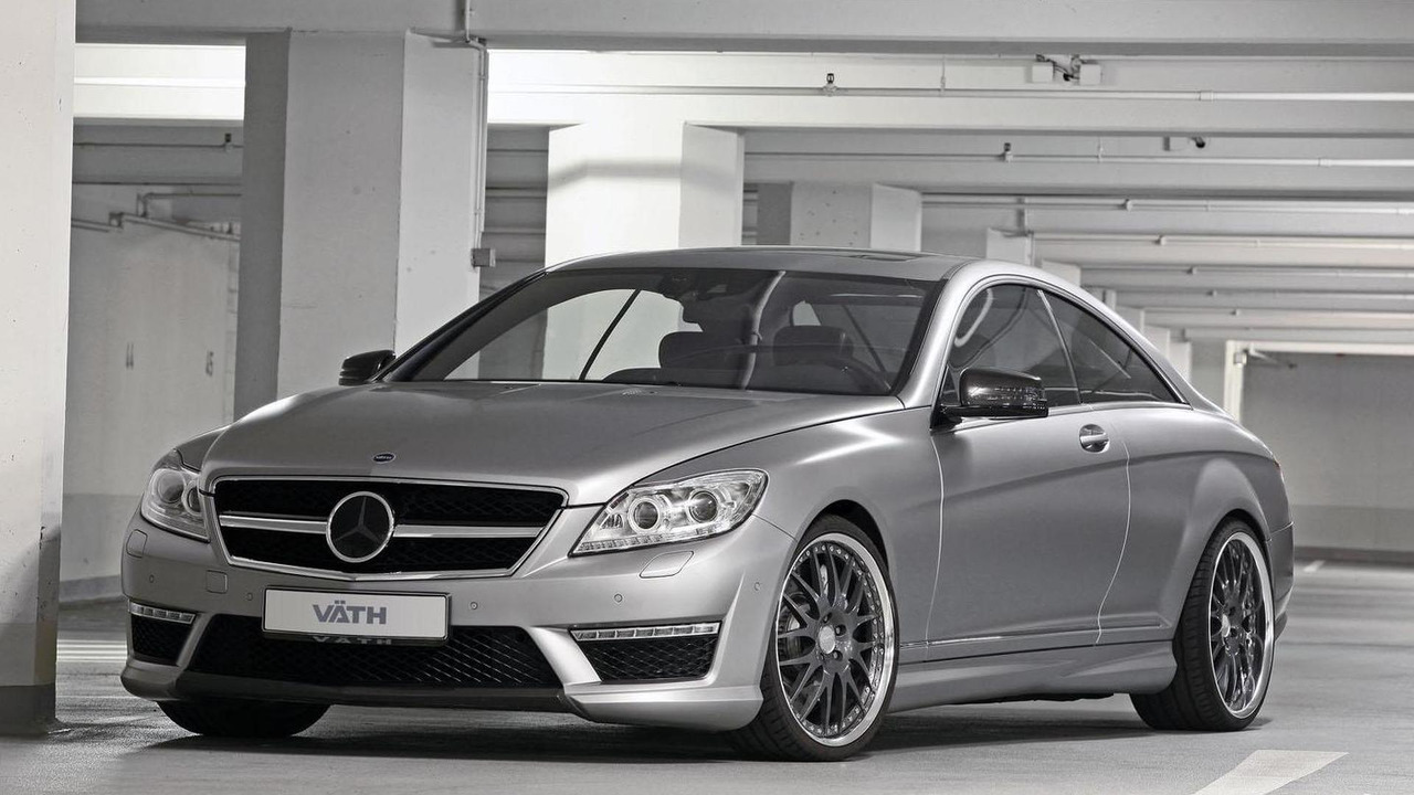 Mercedes CL63 AMG by VÄTH - 31.8.2011