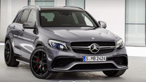 Rumored Mercedes-Benz GLC 63 AMG rendered