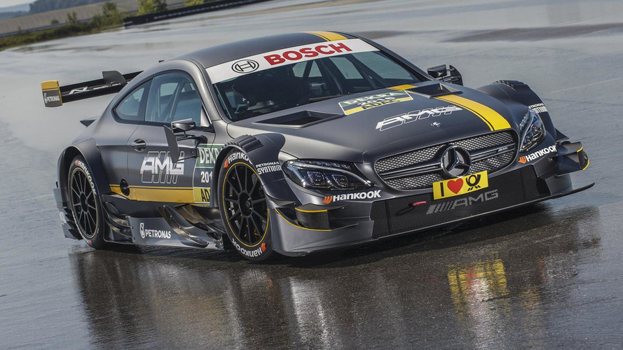 2016 Mercedes-AMG C63 Coupe DTM breaks cover
