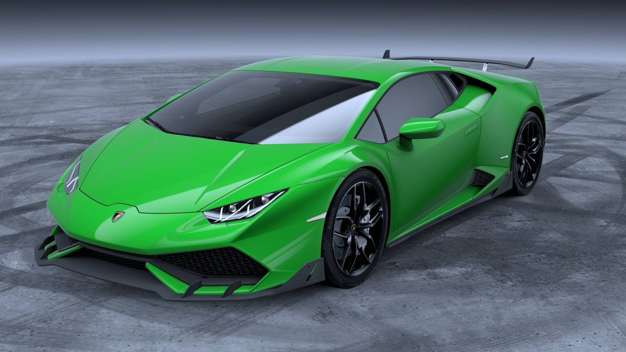 Lamborghini Huracan with aero kit