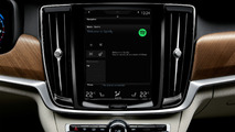 Volvo Sensus with integrated Spotify
